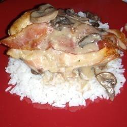 Bacon Mushroom Chicken