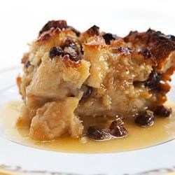 Photo of Bread Pudding with Raisins by James Noble