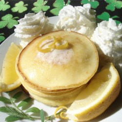Romantic Lemon Cheesecake Pancakes Recipe