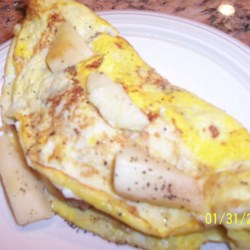 Apple Style Omelets Recipe
