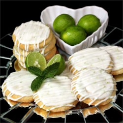 Spring Key Lime Tea Cookies