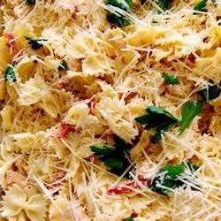 Asiago Sun-Dried Tomato Pasta Recipe