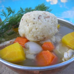 Angel Family Chicken Soup with Matzo Balls Recipe