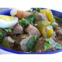 Ajiaco (Beef and Pepper Stew) Recipe