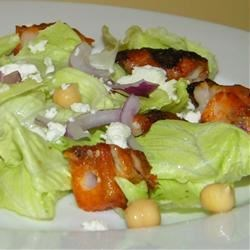 Grecian Lamb Caesar Salad Recipe