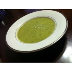 Spicy Cream of Asparagus Soup Recipe