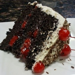 Black Forest Cake Slice from Cake Attempt #4