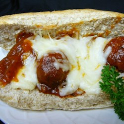 Meatball Grinders with a Yummy Sauce Recipe