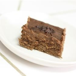 Lower Fat Fudge Brownies Recipe