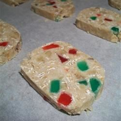 Coconut Gumdrop Cookies Recipe