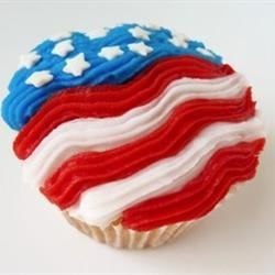 4th of July Star Cupcakes Recipe