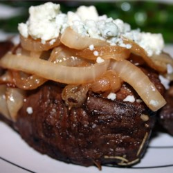 Smothered Filet Mignon Recipe