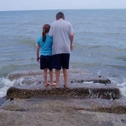 The kids at Geneva State Park, OH