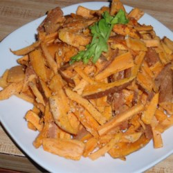 Tangy Sweet Potato Fries Recipe