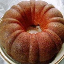 Cream Cheese Pound Cake II Recipe