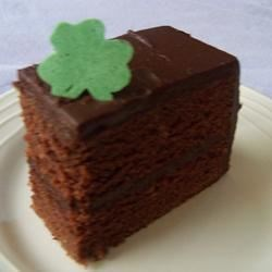 Diana's Guinness Chocolate Cake with Guinness Chocolate Icing