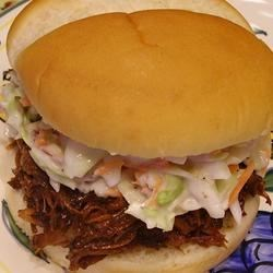 The Best BBQ'd Shredded Beef for Sandwiches....Seriously!