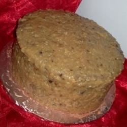 German Chocolate Frosting with Walnuts Recipe