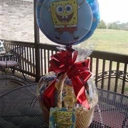 Get Well Basket for Brayden (I made.)