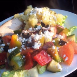 Sylvia's Easy Greek Salad Recipe
