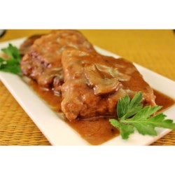 Baked Fake Steak with Gravy Recipe