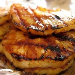Grilled Pineapple Slices Recipe