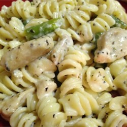 Basil Chicken and Pasta Recipe
