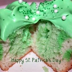 St. Patrick's Day Cupcakes!