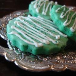 Green Tea Mint Cookies