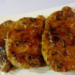 Pork Chops with Basil and Marsala Recipe