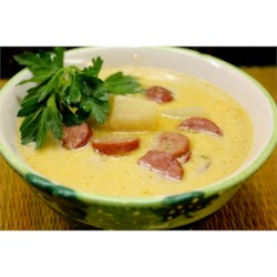 Sausage 'n Stout Cheese Soup Recipe