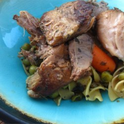 Dad's Home With the Kids Slow-Cooker Roast