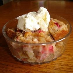 Photo of Fresh Rhubarb Bread Pudding by DMJOLLY
