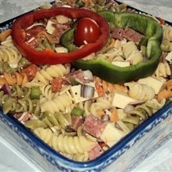 Pasta Deli Salad Recipe