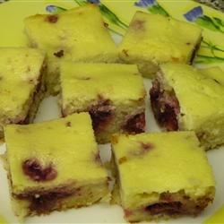 Blueberry Ricotta Squares Recipe