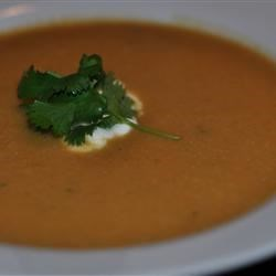 Photo of Curried Cauliflower-Sweet Potato Soup by Stephy13