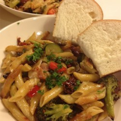Penne Pasta with Veggies Recipe