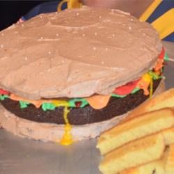Italian Pansy Cake