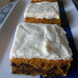 Pumpkin Bars V Recipe