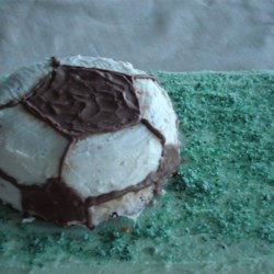 Soccer Ball Cake Recipe