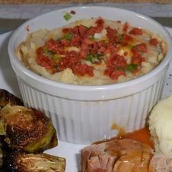 Twice-Baked Mashed Potatoes