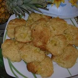 Pineapple Drop Cookies I Recipe