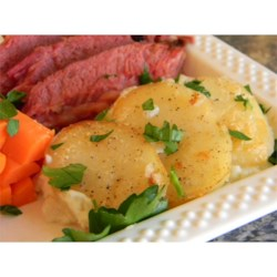 Old Irish Scalloped Potatoes Recipe