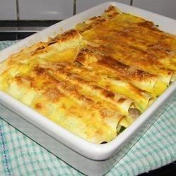 Cannelloni Tre Sapori Recipe