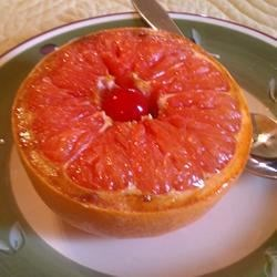 Simple Broiled Grapefruit   Recipe