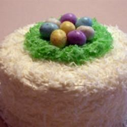 Coconut Easter Cake Recipe