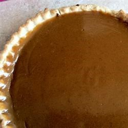 Old Fashioned Caramel Pie Recipe