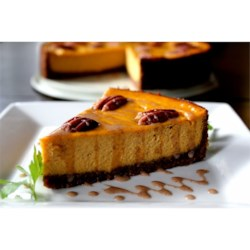 Carrot Cheesecake with Crumb Crust Recipe