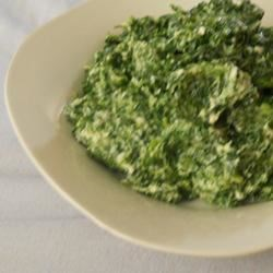 Sarah's Spinach Side Dish
