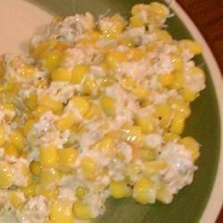 Cream Cheese Corn Bake